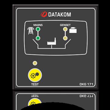 Автоматическое переключение сети (Сух.конт.на запуск генератора) Datakom DKG-171