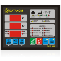 Автоматическое переключение сети (Сух.конт.на запуск генератора) Datakom DKG-327