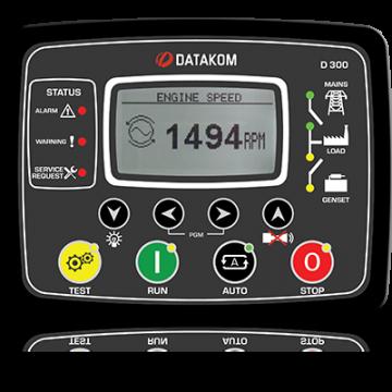 Контроллер для генератора (MPU, J1939) Datakom D-300