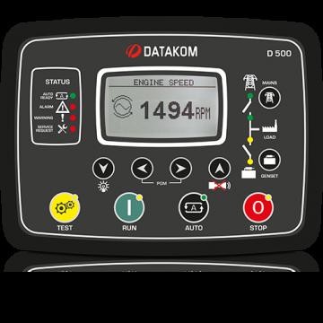 Контроллер для генератора (RS-485, Ethernet) Datakom D-500 Std