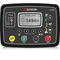 Контроллер для генератора (RS-485, подогрев дисплея) Datakom D-500-LITE