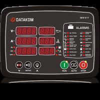 Ручной и удаленный запуск генератора Datakom DKG-517 MPU