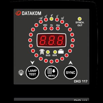 Синхроскоп и реле включения синхронизации Datakom DKG-117 96*96