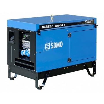 Дизельный генератор SDMO DIESEL 10000 E AVR SILENCE