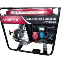 Генератор сварочный бензиновый АМПЕРОС LTW200AR-3