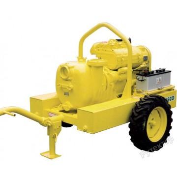 Мотопомпа дизельная грязевая Varisco JD 4-316 G10 MVM25 TRAILER