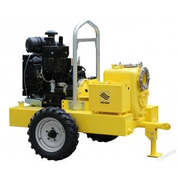 Мотопомпа дизельная грязевая Varisco JD 6-250 G10 FKL10 TRAILER