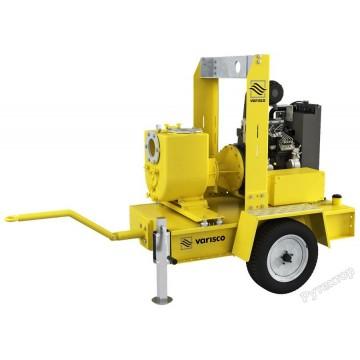 Мотопомпа дизельная грязевая Varisco JD 6-250 G11 FKL10 TRAILER