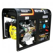 Бензиновый генератор HUTER DY6500LXW сварочный