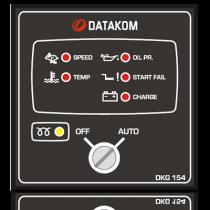 DKG-154 Удаленный запуск генератора (Твердотельные выходы 1,2А) Datakom