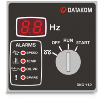 DKG-112 Ручной запуск генератора (12V energize to start) Datakom