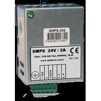 SMPS-124 Din rail зарядное устройство (12В 4А монтаж на Din-рейку) Datakom