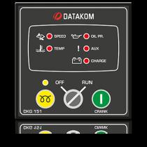 DKG-151 Ручной запуск генератора (релейные выходы 10А) Datakom