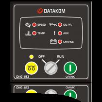 DKG-153 Ручной запуск генератора (Твердотельные выходы 1,2А) Datakom
