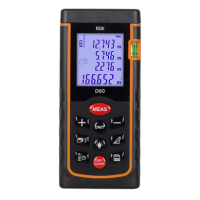 Дальномер лазерный RGK D60 New
