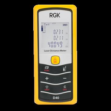 Дальномер лазерный RGK D40