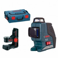 Лазерный уровень Bosch GLL 3-80 P + BM1 + L-Boxx (0.601.063.309)