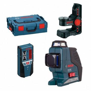 Лазерный уровень Bosch GLL 3-80P + BM1+ LR2 + L-BOXX (0.601.063.30A)