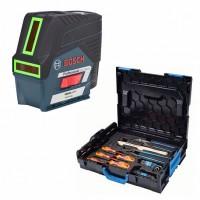 Лазерный уровень Bosch GCL 2-50 CG+RM2+BM 3 clip L-Boxx+GEDORE set (0.615.994.0KF)