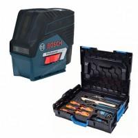 Лазерный уровень Bosch GCL 2-50 CG+RM2+BM 3 clip RC 2 L-Boxx+GEDORE set (0.615.994.0KG)