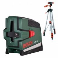 Лазерный нивелир Bosch PCL 20 SET + инструмент (0.603.008.222)