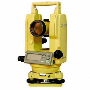 Лазерный электронный теодолит Topcon DT-207L