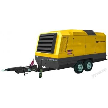 Передвижной дизельный винтовой компрессор ET RM-165P 10