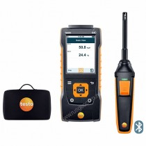 Testo 440. Комплект с Bluetooth-зондом влажности и температуры и кейсом