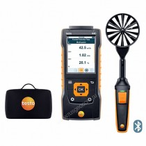 Testo 440. Комплект с Bluetooth-крыльчаткой 100 мм и кейсом