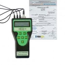 Поверка измерителя плотности теплового потока и температуры