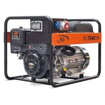 Бензиновый генератор RID RS 7540 PA