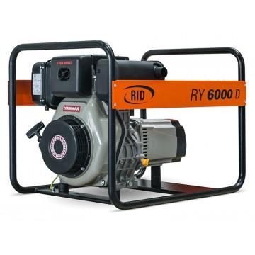 Дизельный генератор RID RY 6000 D