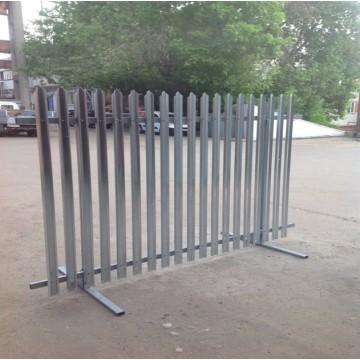 Забор из штакетника РСЧ-2,0