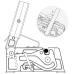 Станок ручной для резки арматуры Kapriol 28