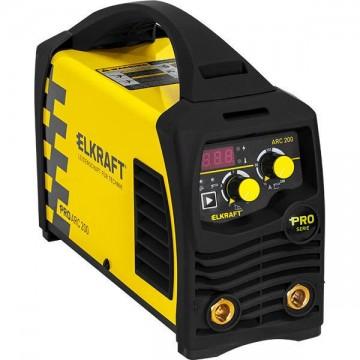 Инвертор сварочный Elkraft PRO ARC 200 (Z209S)