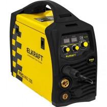 Инвертор сварочный Elkraft PRO MIG 200 Synergy (N229)