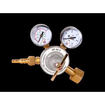 Регулятор расхода газа аргоновый Сварог АР-40-5 (манометр + расходомер)