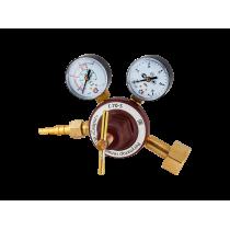 Регулятор расхода газа гелиевый Сварог Г-70-5 (манометр + расходомер)