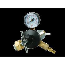 Регулятор расхода газа углекислотный Сварог У-30-КР1 П (1 расходомер) С подогревателем