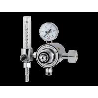 Регулятор расхода газа универсальный Сварог У-30/АР-40-П-220-Р (с ротаметром, подогреватель на 220 В)