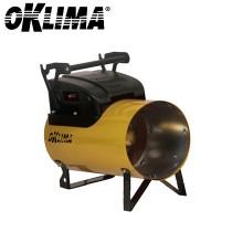 Газовые тепловые пушки прямого нагрева Oklima SG 120 A (автоматический поджиг)