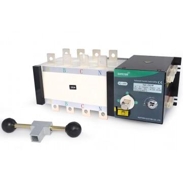 Реверсивный рубильник SQ5-250/4 ~400V In250A