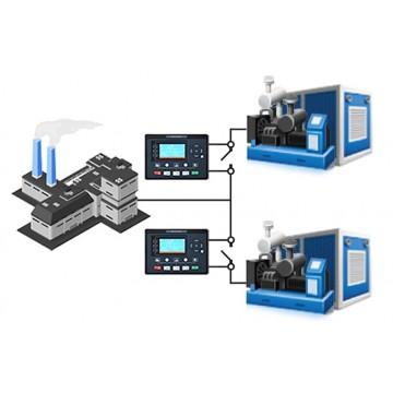 Синхронизация ДГУ 200 кВт ComAp