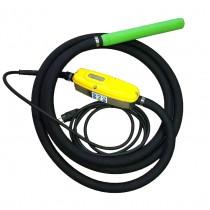 Высокочастотный глубинный вибратор со встроенным преобразователем Technoflex GOLD EDF-50 LT